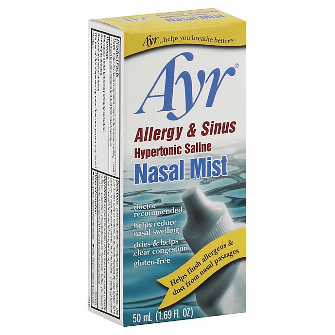 Alternate image 1 for Ayr® Allergy & Sinus Hypertonic Saline Nasal Mist