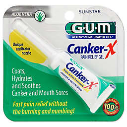 Sunstar GUM® Canker-X® 1.28 oz. Triple Action Pain Relief Gel