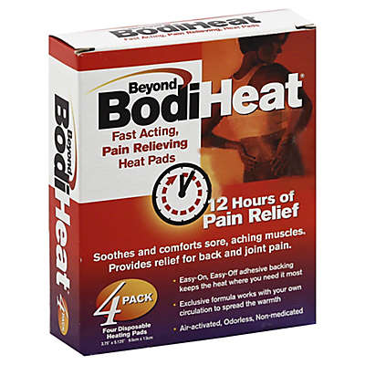 Beyond Bodi Heat 4-Pack Disposable Heat Pads