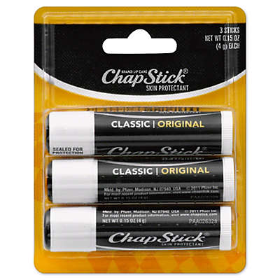 ChapStick Classic 3-Pack 0.15 oz. Original Lip Balm