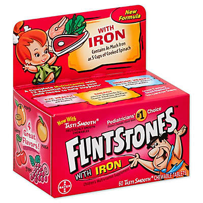 Flintstones™ with Iron Multivitamin 60-Count Chewable Tablets