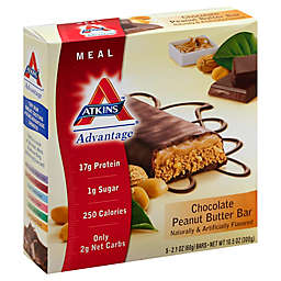 Atkins™ Chocolate Peanut Butter Bar 5-Count Snack Bar