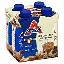 Atkins™ Advantage 4-Pack 11 oz. Shakes in Milk Chocolate Delight