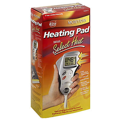 Cara® Moist/Dry Heating Pad with Select Heat and LCD Switch/Display