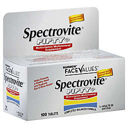 Harmon® Face Values™ Spectrovite® Fifty+ 100-Count Multivitamin/Multimineral Tablets