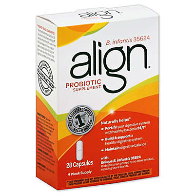 Align® 28-Count Probiotic Supplement Capsules