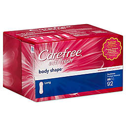 Carefree® Acti-Fresh® Body Shape™ 92-Count Long Unscented Pantiliners