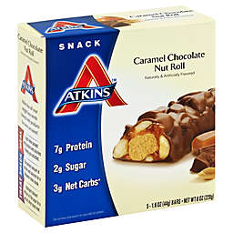 Atkins™ Caramel Chocolate Nut Roll Bar 5-Count Snack Bar