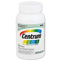 Centrum 200-Count Multivitamin/Multimineral Supplement Tablets