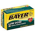 Bayer Low Dose 200-Count 81 mg Asprin Tablets