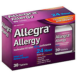 Allegra® Allergy 24 Hour 30-Count Tablets