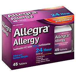 Allegra® Allergy 45-Count 24-Hour Antihistamine
