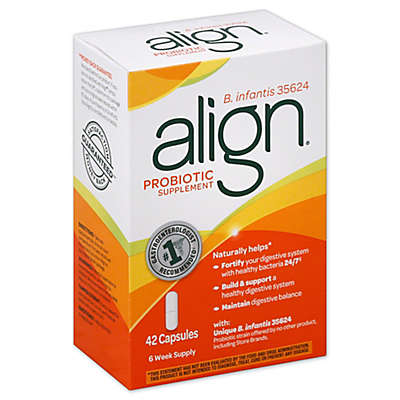 Align 42-Count B. infantis 35624 Probiotic Supplement Capsules