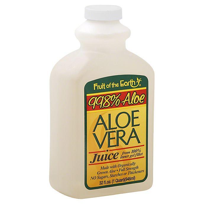 Alternate image 1 for Fruit of the Earth 32 oz. Aloe Vera Juice