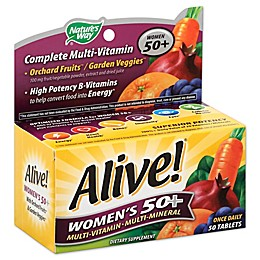 Alive! 50-Count Senior Women's Energy Multivitamin 50 +