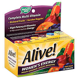 Alive! 50-Count Womens Energy Multivitamin