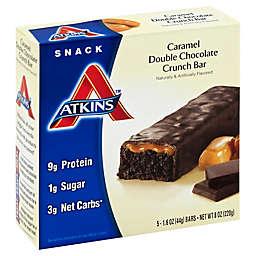 Atkins Caramel Double Chocolate Crunch 5-Pack Bar