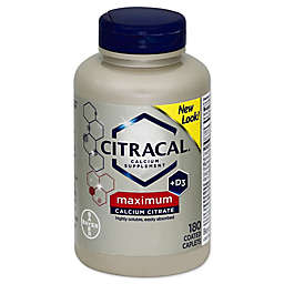 Citracal® Maximum 80-Count Calcium Supplement Coated Tablets