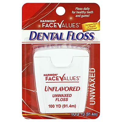 Harmon® Face Values™ 100 yd. Unwaxed Dental Floss