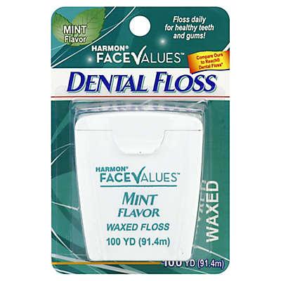 Harmon® Face Values™ 100 yd. Waxed Mint Dental Floss