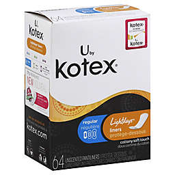 Kotex® Lightdays® 64-Count Unscented Pantiliners