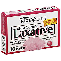 Harmon® Face Values™ Women's Gentle Laxative 30-Count Tablets