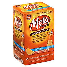 Metamucil Sunrise Sugar Free 30-Packet MultiHealth Fiber in Orange
