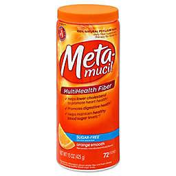 Metamucil 72-Count Sugar Free Orange Smooth Daily Fiber Supplements