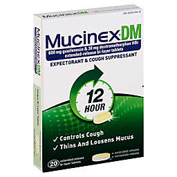 Mucinex® DM Expectorant & Cough Suppressant 20-Count Extended Release Tablets