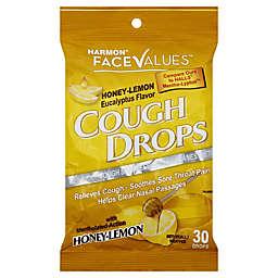 Harmon® Face Values™ 30-Count Cough Drops in Honey-Lemon Eucalyptus