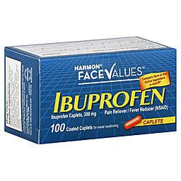 Harmon® Face Values™ 100-Count 200 mg Ibuprofen Caplets