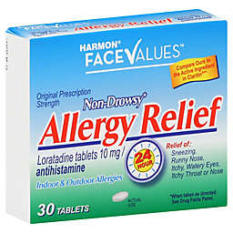 Harmon® Face Values™ 30-Count Non Drowsy Allergy Relief Tablets