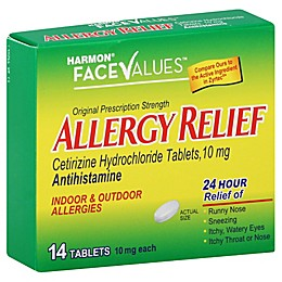 Harmon® Face Values™ 14-Count 24-Hour Allergy Relief Tablets