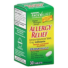 Harmon® Face Values™ 30-Count All Day Allergy Tablets