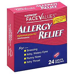 Harmon® Face Values™ Allergy Relief 24-Count Antihistamine Caplets