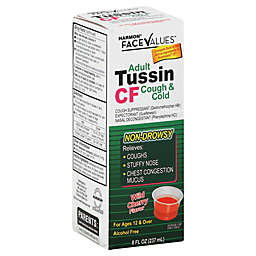 Harmon® Face Values™ Tussin PE 8 oz. Cough & Cold Syrup in Wild Cherry Flavor