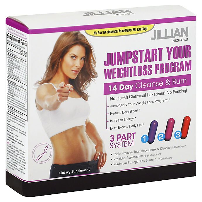 Alternate image 1 for Jillian Michaels JumpStart Your Weightloss Program 14-Day Cleanse and Burn