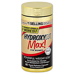 Pro Clinical Hydroxycut® Max for Women 60-Count Dietary Supplement Capsules