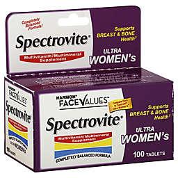 Harmon® FaceValues™ Spectrovite® 100-Count Ultra Women's Multivitamin Tablets