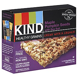 Kind® Healthy Grains 5-Pack Maple Pumpkin Seeds with Sea Salt Granola Bars