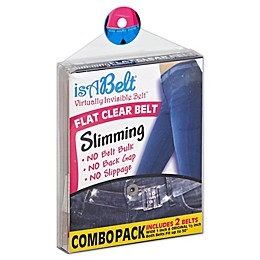 IsABelt™ 2-Pack Flat Clear Belt