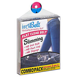 IsABelt™ 2-Pack Flat Clear Belt