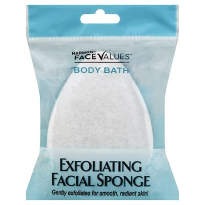Harmon Face Values Body Bath Exfoliating Facial Sponge Bed