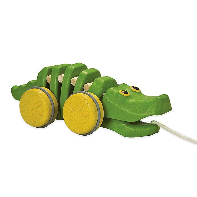 Alternate image 1 for PlanToys® Dancing Alligator Pull Toy
