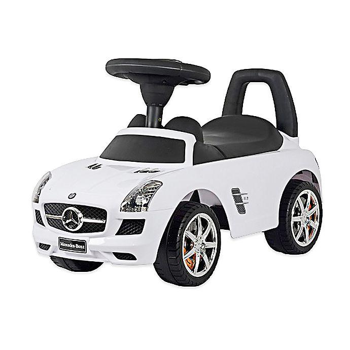Alternate image 1 for Mercedes SLS AMG Push Car in White