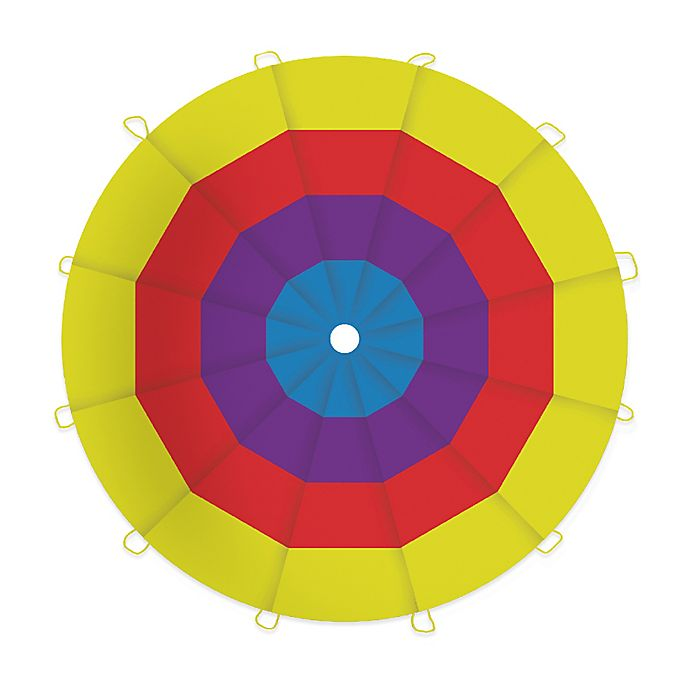 Alternate image 1 for Pacific Play Tents Kaleidochute 12-Foot Parachute