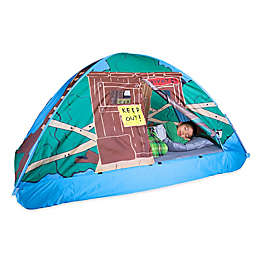 3ac1a0a542dd Pacific Play Tents Tree House Twin Bed Tent