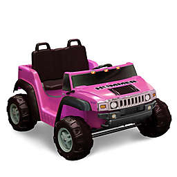 Kid Motorz Hummer H2 Two-Seater 12-Volt Ride-On in Pink