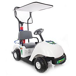 Kid Motorz Jr. Pro Golf Cart 6-Volt Ride-On in White