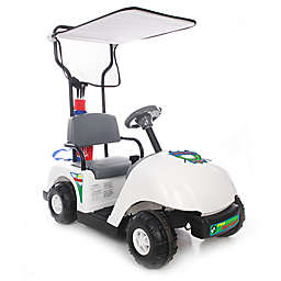 Kid Motorz Jr. Pro Golf Cart 6-Volt Ride-On in White